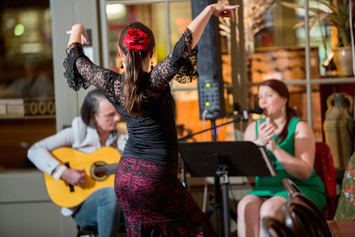 Los Flamencos at Cafe Novella